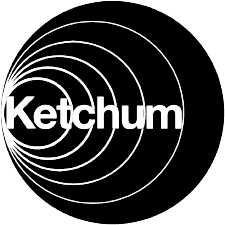 Black logo of Ketchum