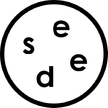 Black logo of Seed